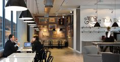 ColArt's New Multifunctional London Offices, designed by Morgan Lovell