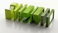 Buro 5 Piece Office Set - Green