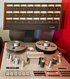 Studer 24 track analog tape machine