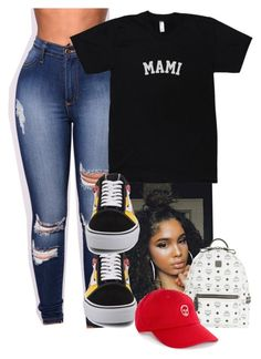 """""""Untitled #242"""" by lanadabest ❤ liked on Polyvore featuring Vans and MCM"""