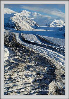 Mount Bona, Wrangell St. Elias National Park, Alaska.