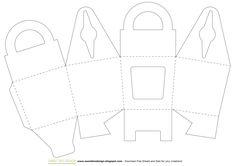 Tutorial: Scatoline porta cupcake - Cupcake Gift Box by SweetBioDesign.blogspot.it