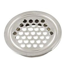 TOOGOO(R) 10 Pcs 43mm Diameter Hardware Stainless Steel Round Air Vent Louver -- Check out this great product.