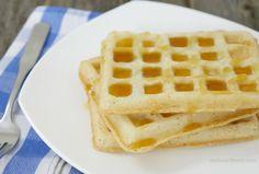 3-ingredient crispy gluten-free waffles by myheartbeets.com