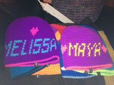 """My first orders :D """"Maya"""" and """"Melissa"""" ©Typisk Annicen"""