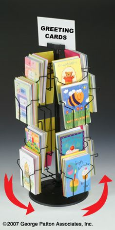 Countertop metal spinner greeting card display rack with sign holder countertop metal spinner greeting card display rack with sign holder buy spinner card rackcard display rackgreeting card display rack product on m4hsunfo
