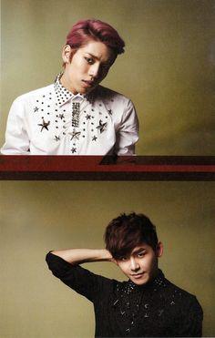 [MAG/SCAN] Infinite H - Star1 Magazine February 2013, Dongwoo & Hoya