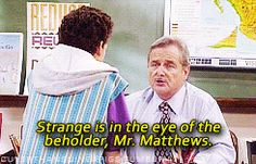 Don't judge a book by its cover. | 16 Things Mr. Feeny Taught Us