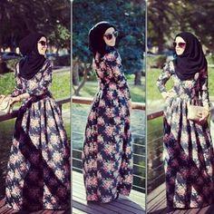 Muslimah fashion #hijab#muslimah