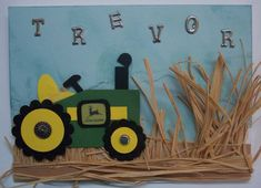 Trevor's Tractor by MimiKitty - Cards and Paper Crafts at Splitcoaststampers
