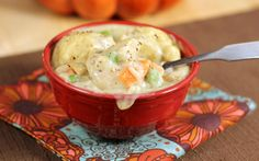 30-Minute Shortcut Chicken and Dumplings - You can make this gluten free by using different flour - yum!