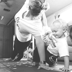 "I had 2 little guys join me today for PiYo. ""Look at me!"" ""I can do it Mom!"" These shrieks of pride fill my momma heart with joy and I know that every day that I take time out for me I'm telling my boys that self care and health are important. God has only given us ONE body ONE life. If you want to spend it for Him it's time to take care of it so you aren't out of breathe hiking that mountain Missionary. So you can do hospital visits instead of being visited Pastor. So you can keep up with…"