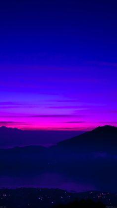 Download wallpaper: http://goo.gl/ip6GHw mc96-wallpaper-a-balinese-dream-sea-mountain-sunset via freeios8.com - iPhone, iPad, iOS8, Parallax wallpapers