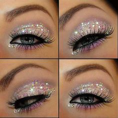 Sparkle Eye Make up...