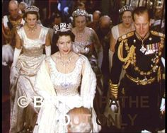 Patricia, Marchioness of Abergavenny, top right, behind Prince Philip, wearing a diamond loop tiara. Died 2005, Obit https://groups.google.com/forum/#!topic/peerage-news/3-9StOiUXhE