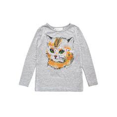 Jason cat t-shirt / Little Paul & Joe