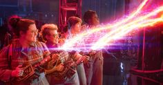From proton packs to PKE meters — 'Ghostbusters' production designer and prop master walk us through latest ghostbusting tech and gear.