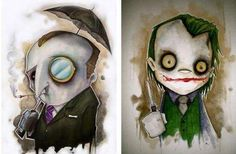 Creepy Comic-Book Caricatures : These Chris Uminga Illustrations are Uncanny