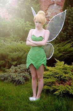 Peter Pan Tinkerbell Kostüm selber machen   Kostüm Idee zu Karneval, Halloween & Fasching