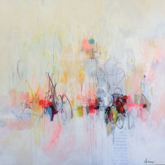 Cynthia Brown Abstract Paintings - CASA