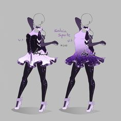 Outfit design - 310 - closed by LotusLumino on DeviantArt