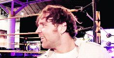 Dean Ambrose being the cutest yet again [gif]