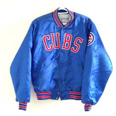 eb1594179 Chicago Cubs Vintage Swingster Bomber by ThingsIBuyForYou on Etsy Chicago  Cubs
