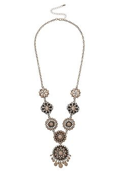 Beaded Medallion Necklace available at #Maurices