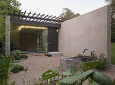 Tarrytown Phase II Yoga Studio - modern - landscape - other metro - Webber + Studio, Architects