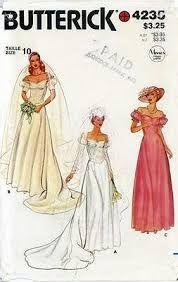 1980s wedding dress patterns - Google Search