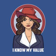 Check out this awesome 'I+Know+My+Value' design on TeePublic! http://bit.ly/1NvA2u9 i'd probably get this as a tank, in red.