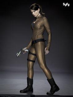"Rachel Nichols as Keira Cameron from ""Continuum"""