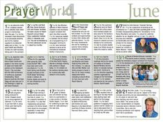 Click the link below to download our June issue of PrayerWorld. We invite you to join us in prayer this month for our missionaries and partners around the world who are reaching beyond for Christ! https://reachbeyond.org/PrayerWorld/PW_2014_06.pdf  #prayer #missionaries #evangelism