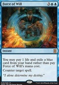 Force of Will, Magic, Eternal Masters