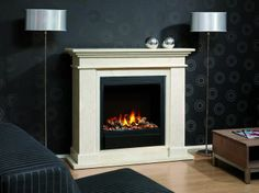 Traditional fireplace (bioethanol closed hearth) - KOS - Ruby Fires