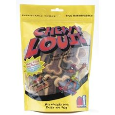 Chewy Louie Dog Treat Set of 2 Quantity Single Flavor Beef ** You can find more details by visiting the image link.