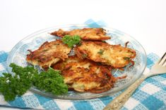"Potato pancakes, called ""latkes"" in Yiddish, are probably the most ..."