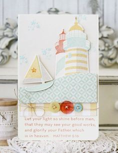 Let Your Light Shine Card by Melissa Phillips for Papertrey Ink (June 2015)