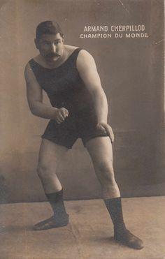 1901 wrestler