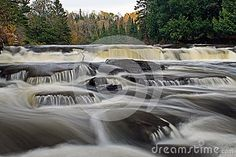 Furnace Falls In Autumn stock image. Image of west, some - 102406485 Small Waterfall, Long Exposure, Blur, Ontario, Beautiful Pictures, Canada, Awesome, Photos, Outdoor