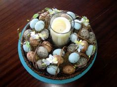 Easter time centerpiece