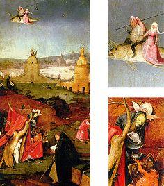 Les Tentations de saint Antoine, sorcellerie, Jérôme Bosch