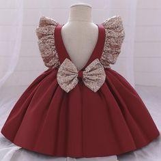 Baby Girl Birthday Dress, Baby Girl Party Dresses, Dresses Kids Girl, Birthday Dresses, Baby Dress, Flower Girl Dresses, Marine Uniform, Kids Gown, Princess Girl