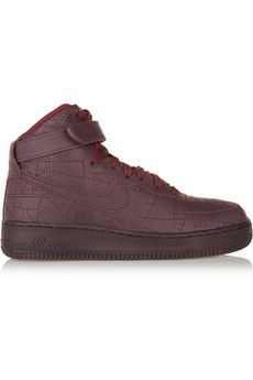 Nike Air Force 1 Shanghai leather high-top sneakers | NET-A-PORTER