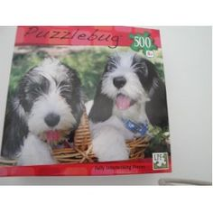 Puppy Basket Puzzlebug 500 piece