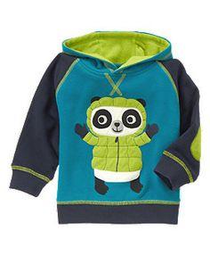 Panda Fleece Hoodie