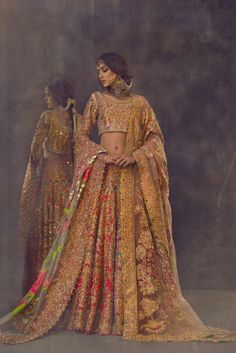 For a more old fashioned style, try out our Ali Xeeshan Bridal Dress. Make yourself the centre of attention with our Ali Xeeshan Bridal Dresses. Pakistani Couture, Pakistani Bridal Dresses, Pakistani Outfits, Bridal Lehenga, Indian Dresses, Indian Couture, Indian Wedding Outfits, Bridal Outfits, Indian Outfits