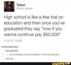 High school free trial
