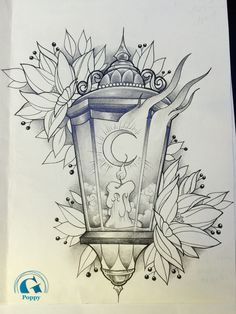 How to draw crystals Cool Art Drawings, Pencil Art Drawings, Art Drawings Sketches, Tattoo Sketches, Tattoo Drawings, Drawing Drawing, Lantern Drawing, Candle Tattoo, Kunst Tattoos