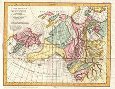 1772 Vaugondy-Diderot Map of Alaska, the Pacific Northwest & the Northwest Passage - Geographicus - DeFonte 2 vaugondy 1768.